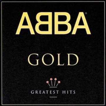 ABBAアバ「ベストアルバムGOLD」日本盤 マンマ・ミーア ダンシング・クィーン