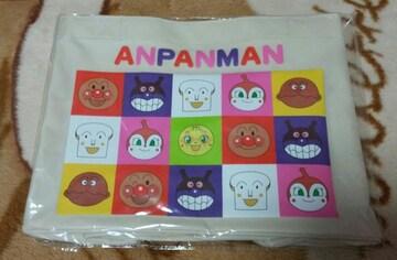 新品☆アンパンマンのトートバック☆白