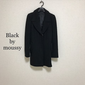 BLACK by moussy チェスターコート