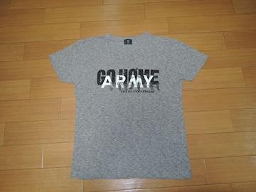 TMT×BE@RBRICKベアブリックTシャツS灰ARMY