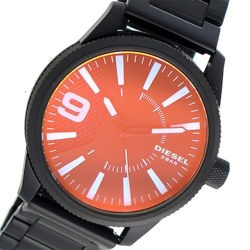 DIESEL クオーツ メンズ 腕時計 DZ1844 ブラック ブラック