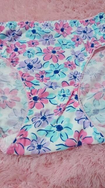 ☆.。.*cotton♪ Big 花プリ ぱんてぃ LL*.。.☆  < 女性ファッションの
