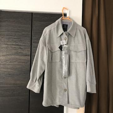 新品オーバーサイズシャツ羽織ビックw closetダブルクローゼット