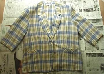 ◆8分袖丈 ジャケット (11号)◆ 中古品