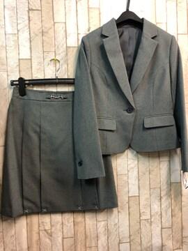 新品☆9号プチサイズ機能たっぷり美人度UPスカートスーツs899