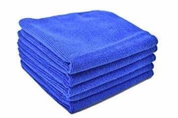 ブルー(25枚) ブルー(25枚) [TARO WORKS] 洗車タオル マイ