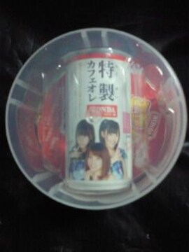 AKB48 アサヒ ワンダ 特製カフェオレ 特別 デザイン缶 マグネット 大島 柏木 渡辺