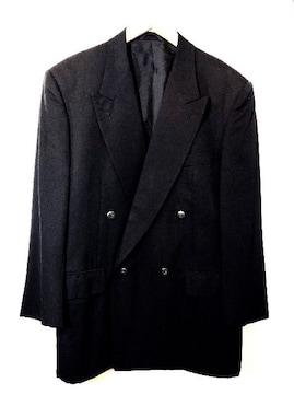 CHRISTIAN AUJARD■テーラードジャケット■シルク■紺ブレザー