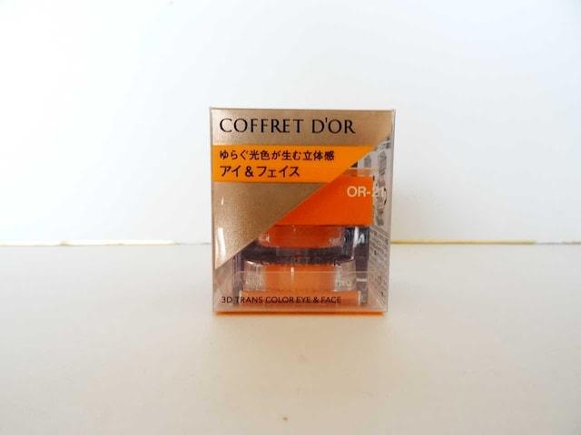 新品・即決 コフレドール 3Dトランスカラー アイ&フェイス#OR-21  < ブランドの