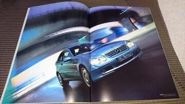 ベンツCクラススポーツクーペカタログ2003/9平成15年9月