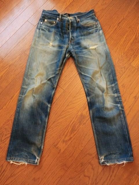 アーペーセー A.P.C セルビッチデニム ストレート 日本製 ジーンズ メンズ W30  < ブランドの
