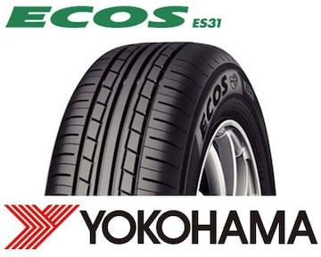 ★165/65R14 緊急入荷★ヨコハマ ECOS ES31 新品タイヤ 4本セット