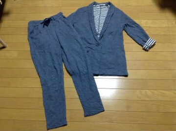 UNDER BAR RAW(アンダーバーロウ)スエットジャケット・パンツセットアップ美品