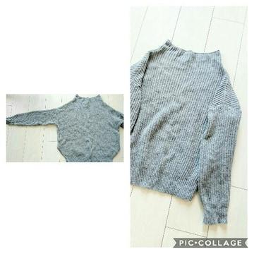 アンティックラグ ウール80アンゴラ20 柔らかセーター