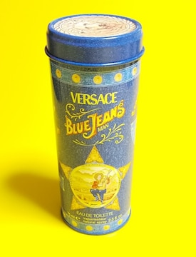 ヴェルサーチ★香水が入っていた缶★中古品