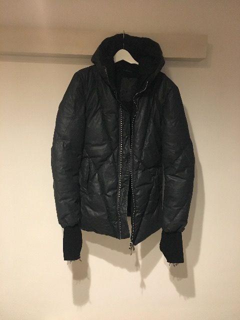 10sei0otto オーバーロックステッチコーティングダウンジャケット xs  < 男性ファッションの