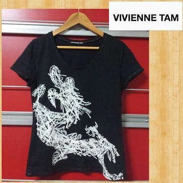 VIVIENNE TAM ヴィヴィアンタム Tシャツ 0 サンエー正規品