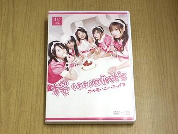 モモミンツDVD「花吹雪ハニー・チップス 」CD付 ●