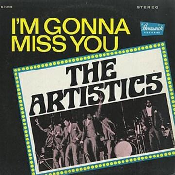 シカゴ ソウル The artistics 名盤 アルバム Im Gonna Miss you
