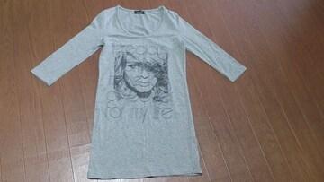 ☆EGOIST エゴイスト 七分袖 ロングTシャツ☆美品