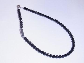 誕生石&刻印がオリジナルで出来る!!ダイヤカットオニキス&プレートネックレス