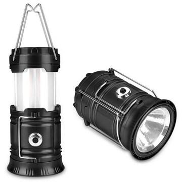 LED ランタン 懐中電灯 Seak 電池式 2色切り替え 昼白色