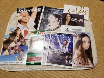 安室奈美恵 チラシやポストカード