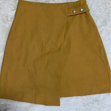 MURUA ラップ巻き風スカート 美品フリーサイズ