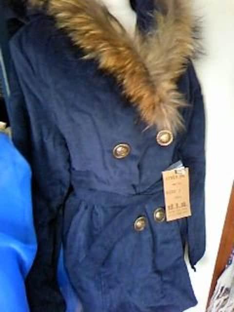 diaめちゃ暖かラクーンファーのコート新品 < ブランドの