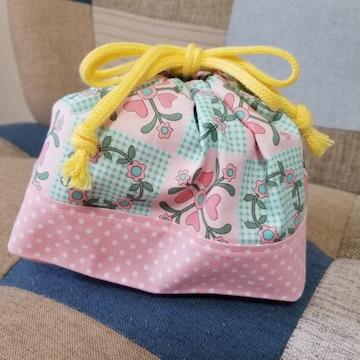 レトロ柄★お弁当袋