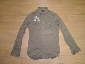ヒステリックグラマーHYSTERIC GLAMOURワークシャツS長袖