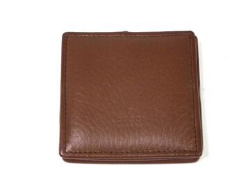 正規新品同様グッチコインケース小銭入れレザーBOX型財布GUC