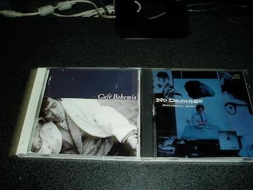 CD「佐野元春/No Damage+Cafe Bohemia」80年代2点セット 即決