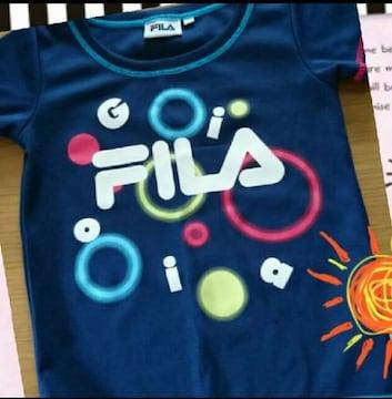フィラ 半袖Tシャツ FILA スポーツ 運動着 ジャージ 110cmカラフル お洒落