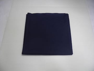 メール便 カラー生地  紺 1メートル 綿100%