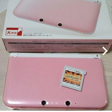 NintendoDSLL ホワイトピンク