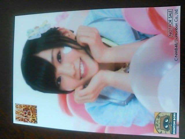 新品AKB48 NMB48×道頓堀非売品生写真山本彩 1枚目  < タレントグッズの