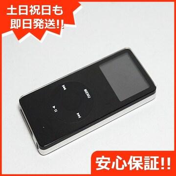 ●安心保証 ●美品●iPOD nano 第1世代 4GB ブラックPA107LL●
