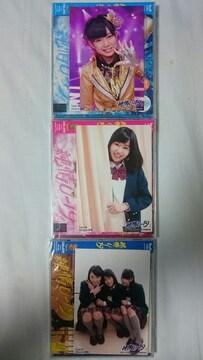 NMB48 CD 「純情U‐19」typeA・B・C セット 写真3枚付き