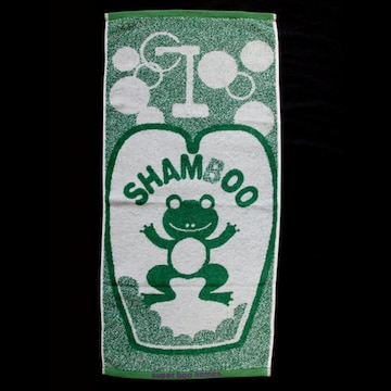 ☆ SUPER BOO HOMES (SHAMBOO)・フェイスタオル