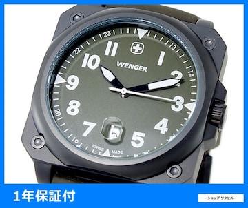 新品 即買い■ウェンガー エアログラフ 腕時計 72422 カーキ