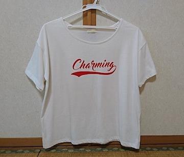 サイズF(フリー)◆英字ロゴTシャツ◆