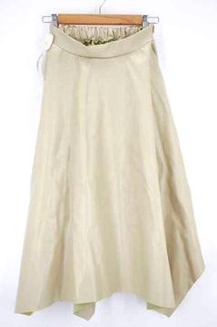 USED古着(ユーズドフルギ)フェイクレザーアシンメトリースカートスカート