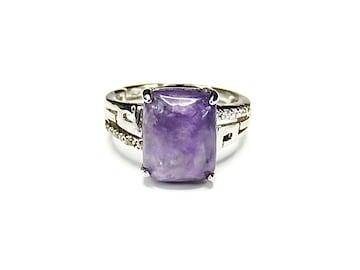 チャロアイト指輪リングAAA天然石一点物14号石街U0269