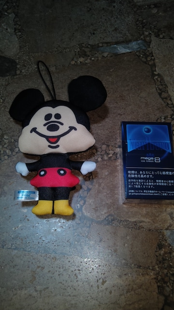 未使用・ミッキーマウス・キーホルダー < おもちゃの