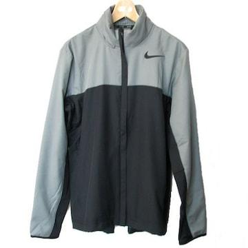 新品◆NIKEグレー×黒ハイパースピードラインジャケット(M)
