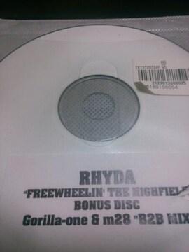 rhyda free wheelin the highfield 特典 cd 激レア