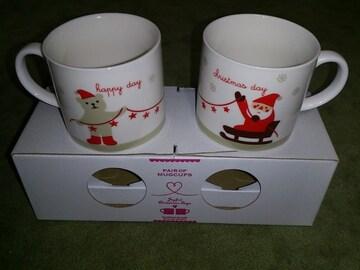 Yoka saji by DECOLE joyful Christmas days ペア マグカップ