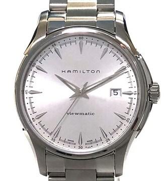 新品同様正規ハミルトン腕時計ジャズマスタービューマチッ