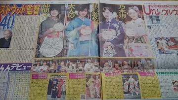 【乃木坂46 成人の日】2020.1.10 日刊スポーツ